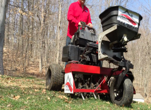 lawn core aeration Easton CT